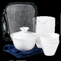Чайный набор посуды для путешественника, 7 предметов