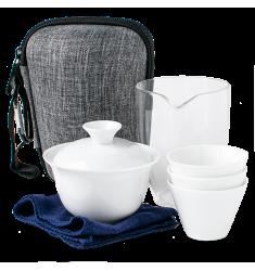 Чайный набор посуды для путешественника, 6 предметов