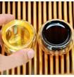 Близнецы Шен и Шу. 400 г 2009 г. Произведено 倚邦正山乔木茶(Yi Bang Zheng Shan Qiao Mu Cha)