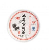 Пуэр (Шу) маленький блин Bing Dao Gu Shu Cha, 2011 г, 150 г