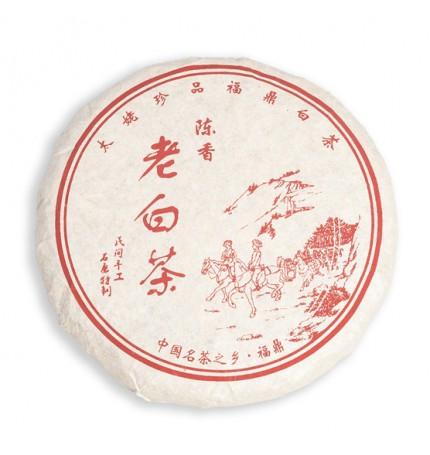 Спрессованный белый чай из уезда Фудин, 100 г
