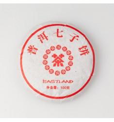 Пуэр (Шу) маленький блин Qi Zi, 2011 г. 100 г