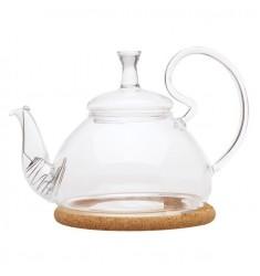 Заварочный чайник из жаропрочного стекла, 600мл