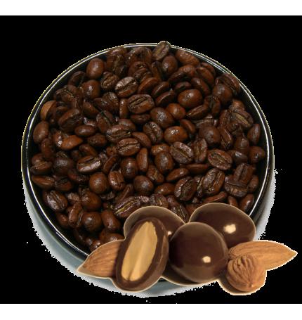 """Кофе в зернах/молотый  """"Шоколадный миндаль"""", 100г"""