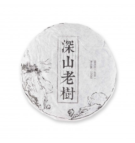 Пуэр (Шен) блин Shen Shan Lao Shu, 2013 г., 100 г