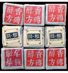 Шу Пуэр Мини кубики  Chun Xiang Fang Zhuan, 50 г, 2016 год