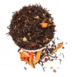 """Чёрный чай """"Гранатовый"""", 50 г"""
